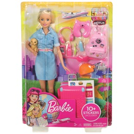 Barbie Dreamhouse kalandok Barbie baba - 29 cm
