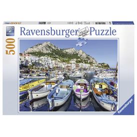 Puzzle 500 db - Színes öböl
