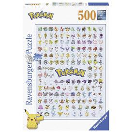 Puzzle 500 db - Pokémonok