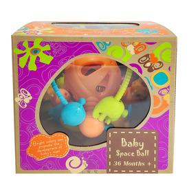 Készségfejlesztő labda bébijáték - 19 cm