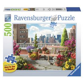 Puzzle 500 db - Tetőterasz