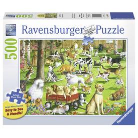 Puzzle 500 db - A kutya parkban