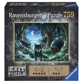 Puzzle Exit 759 db - A farkas történelem