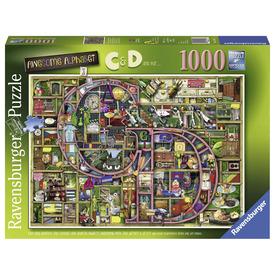 Puzzle 1000 db - Csodás ABC