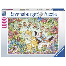 Puzzle 1000 db - Cica barátság