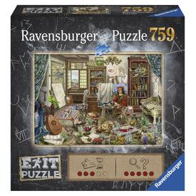 Puzzle Exit 759 db - A művész szobája