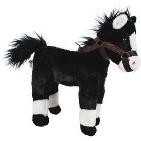 Ló plüssfigura hanggal - fekete, 28 cm Itt egy ajánlat található, a bővebben gombra kattintva, további információkat talál a termékről.