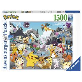 Puzzle 1500 db - Klasszikus Pokémon