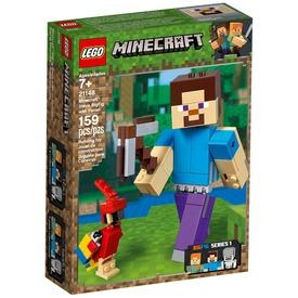 LEGO® Minecraft BigFig Steve papagájjal 21148