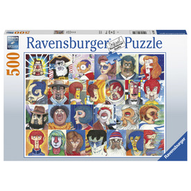 Puzzle 500 db - Arcok