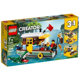 LEGO® Creator Folyóparti lakóhajó 31093