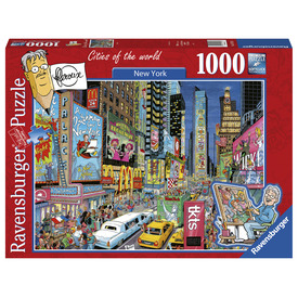 Puzzle 1000 db - New York