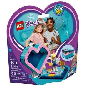 LEGO® Friends Stephanie szív alakú doboza 41356