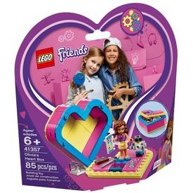 LEGO® Friends Olivia Szív alakú doboza 41357