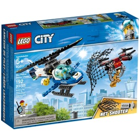 LEGO® City Légi rendőrségi drónos üldözés 60207