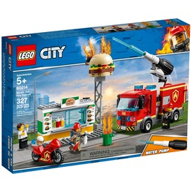 LEGO® City Tűzoltás a hamburgeresnél 60214