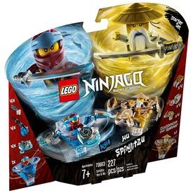LEGO® Ninjago Spinjitzu Nya és Wu 70663