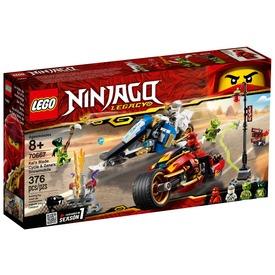 LEGO® Ninjago Kai motorja és Zane szánja 70667