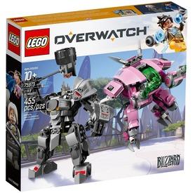 LEGO® Overwatch D. Va és Reinhardt 75973