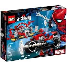 LEGO® Super Heroes Pókember motoros mentése 76113