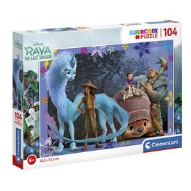 104 db-os Super color puzzle - Raya és az utolsó sárkány