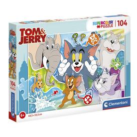 104 db-os Super color puzzle - Tom és Jerry 3