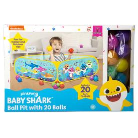 Baby Shark medence + 20 labda