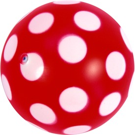 Pöttyös labda - 11 cm, többféle Itt egy ajánlat található, a bővebben gombra kattintva, további információkat talál a termékről.