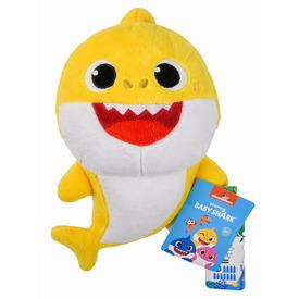 Baby Shark plüss figura, 19, 5 cm, 3 szín