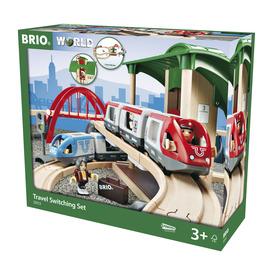 BRIO Vonat átszállás szett