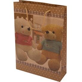 Macis ajándékzacskó - 24 x 33 cm, többféle