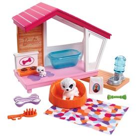 Barbie mesés kutyaház kiegészítőkkel FXG