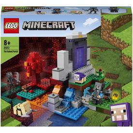 LEGO Minecraft 21172 A romos portál