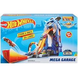 Hot Wheels Mega garázs készlet kisautóval