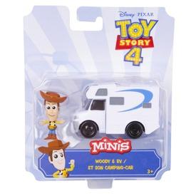 Toy Story 4 mini figura járművel - többféle