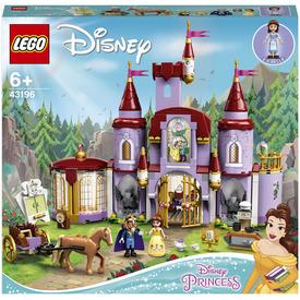 LEGO Disney Princess 43196 Belle és a Szörnyeteg kastélya