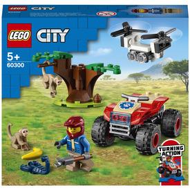 LEGO City Wildlife 60300 Vadvilági ATV mentőjármű