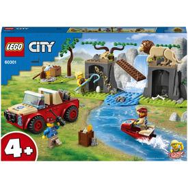 LEGO City Wildlife 60301 Vadvilági mentő terepjáró