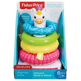 Fisher-Price Gyűrűpiramis unikornissal bébijáték