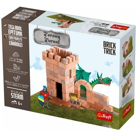 Brick Trick - Lovagi torony építőjáték
