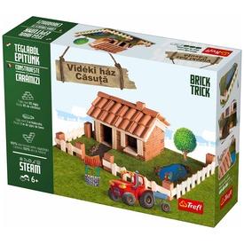 Brick Trick vidéki ház építőjáték