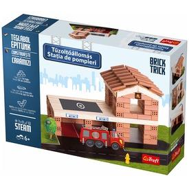 Brick Trick tűzoltóállomás építőjáték