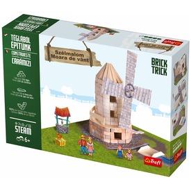 Brick Trick szélmalom építőjáték