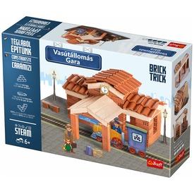 Brick Trick vasútállomás építőjáték