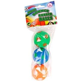 Pattogó labda 3 darabos készlet - 5 cm