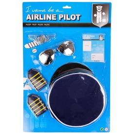 Pilóta jelmez kiegészítő készlet