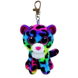 Dotty leopárd kulcstartó plüssfigura - 9 cm