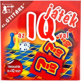 Játék az IQ-val társasjáték Itt egy ajánlat található, a bővebben gombra kattintva, további információkat talál a termékről.