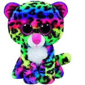 Dotty leopárd plüssfigura - 24 cm