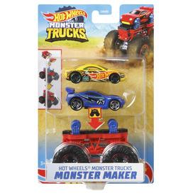 Hot wheels monster trucks szörnykészítő